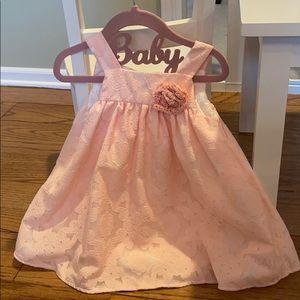 Pretty peachy pink dress! Size 2T